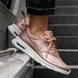 Nike Air Max Thea Metallic Bronze Sneakers